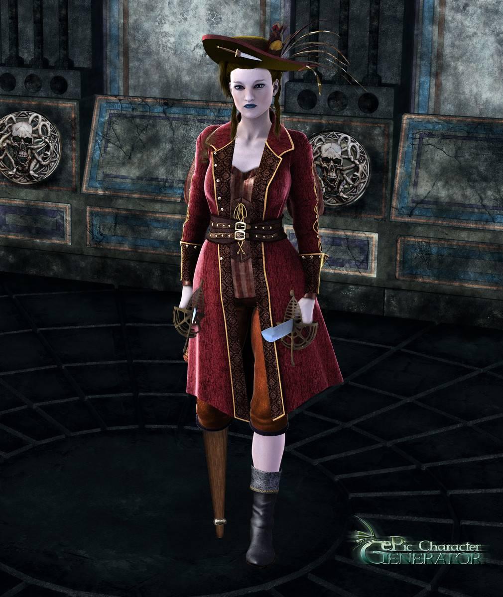 ePic Character Generator Season 2 Female Pirate Screenshot 13