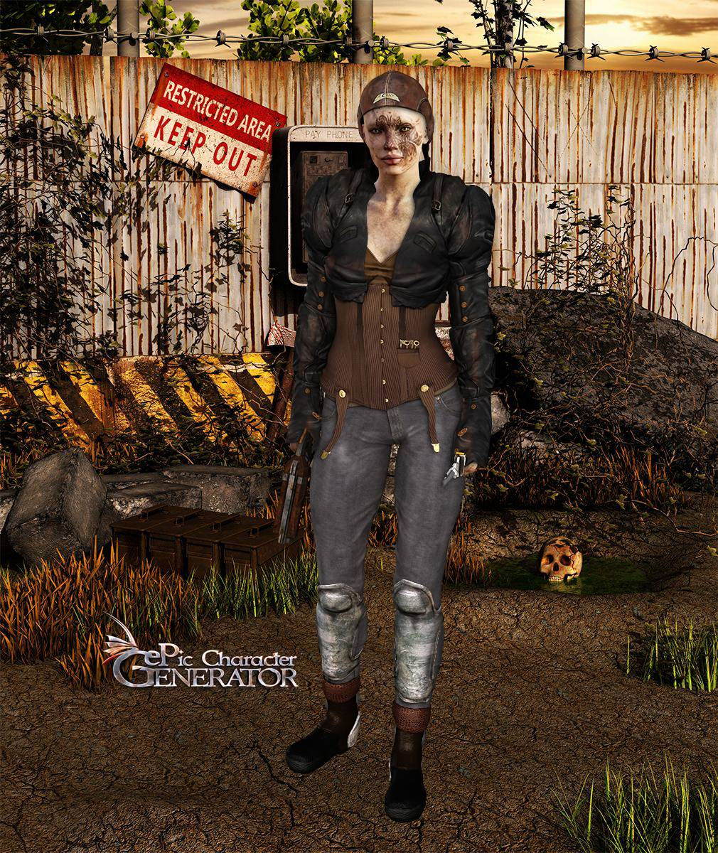 ePic Character Generator Season 2 Female Post Apocalyptic Screenshot 02