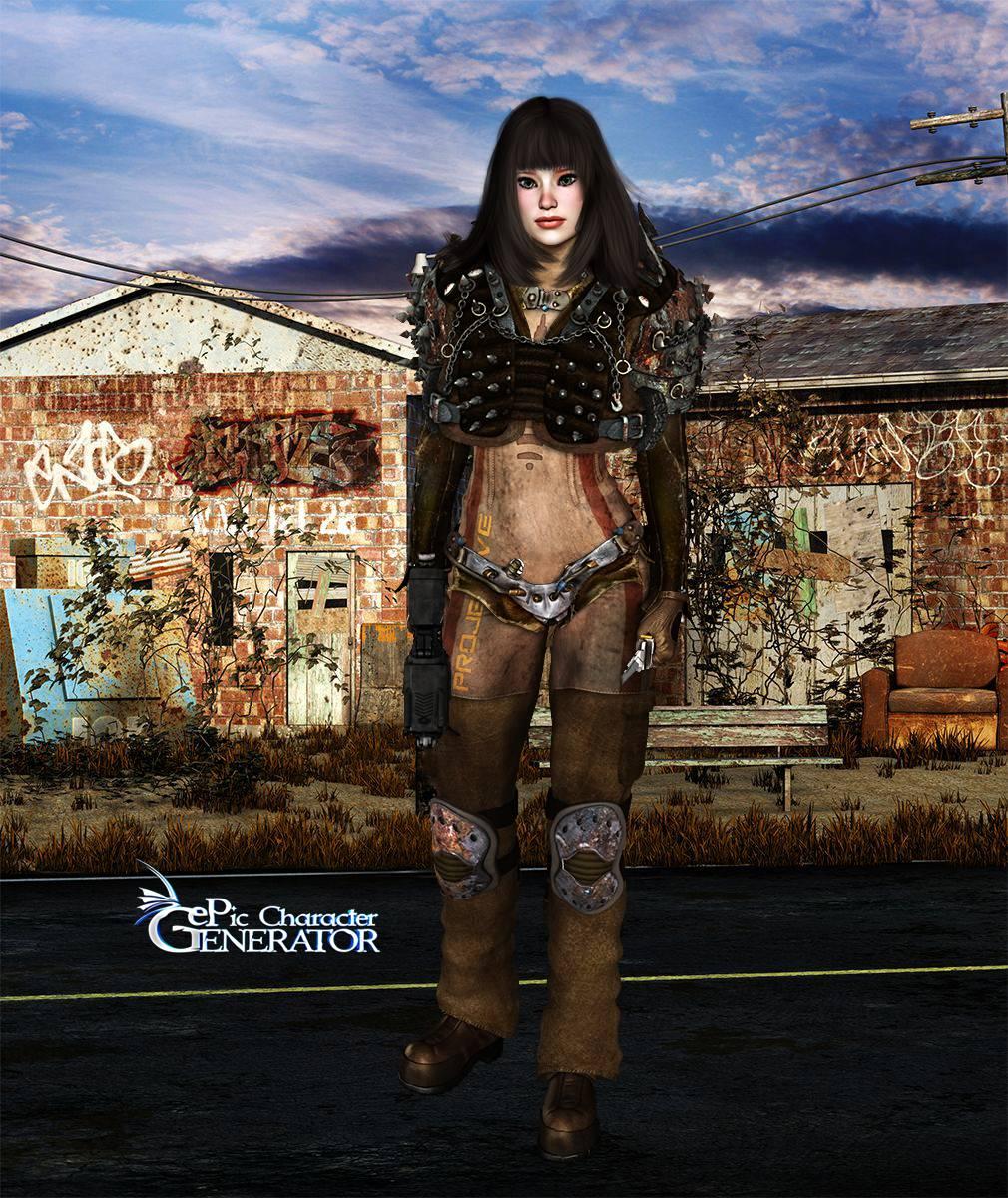 ePic Character Generator Season 2 Female Post Apocalyptic Screenshot 03