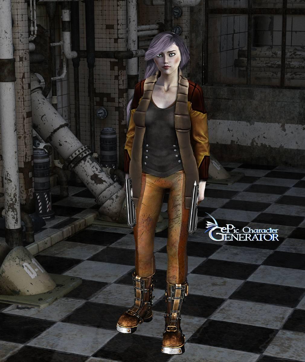 ePic Character Generator Season 2 Female Post Apocalyptic Screenshot 05