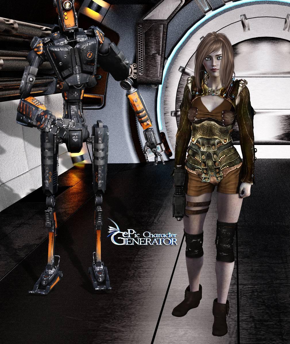 ePic Character Generator Season 2 Female Post Apocalyptic Screenshot 06