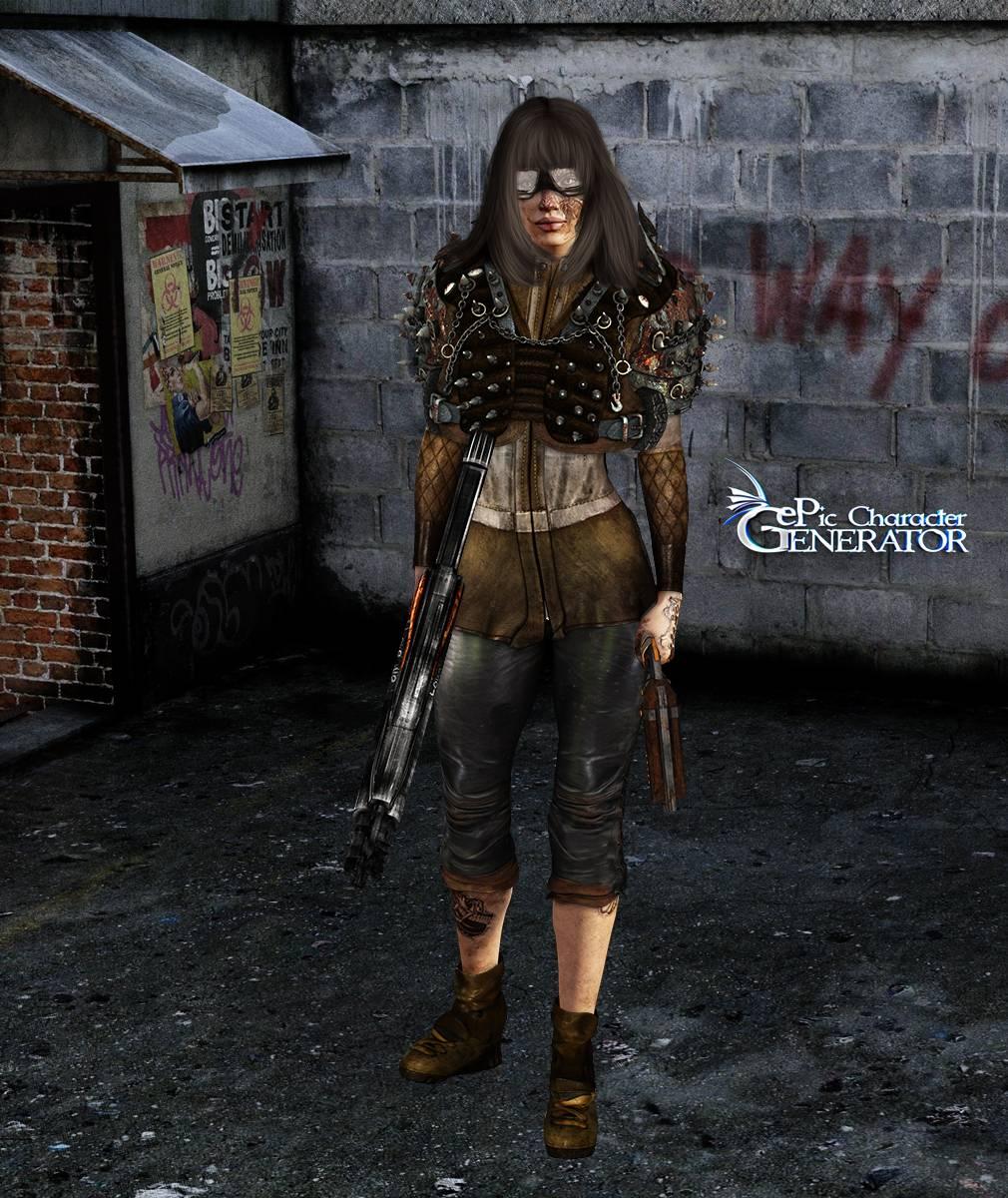 ePic Character Generator Season 2 Female Post Apocalyptic Screenshot 08