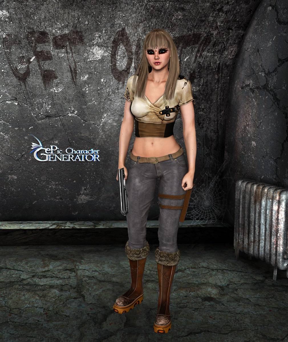 ePic Character Generator Season 2 Female Post Apocalyptic Screenshot 09