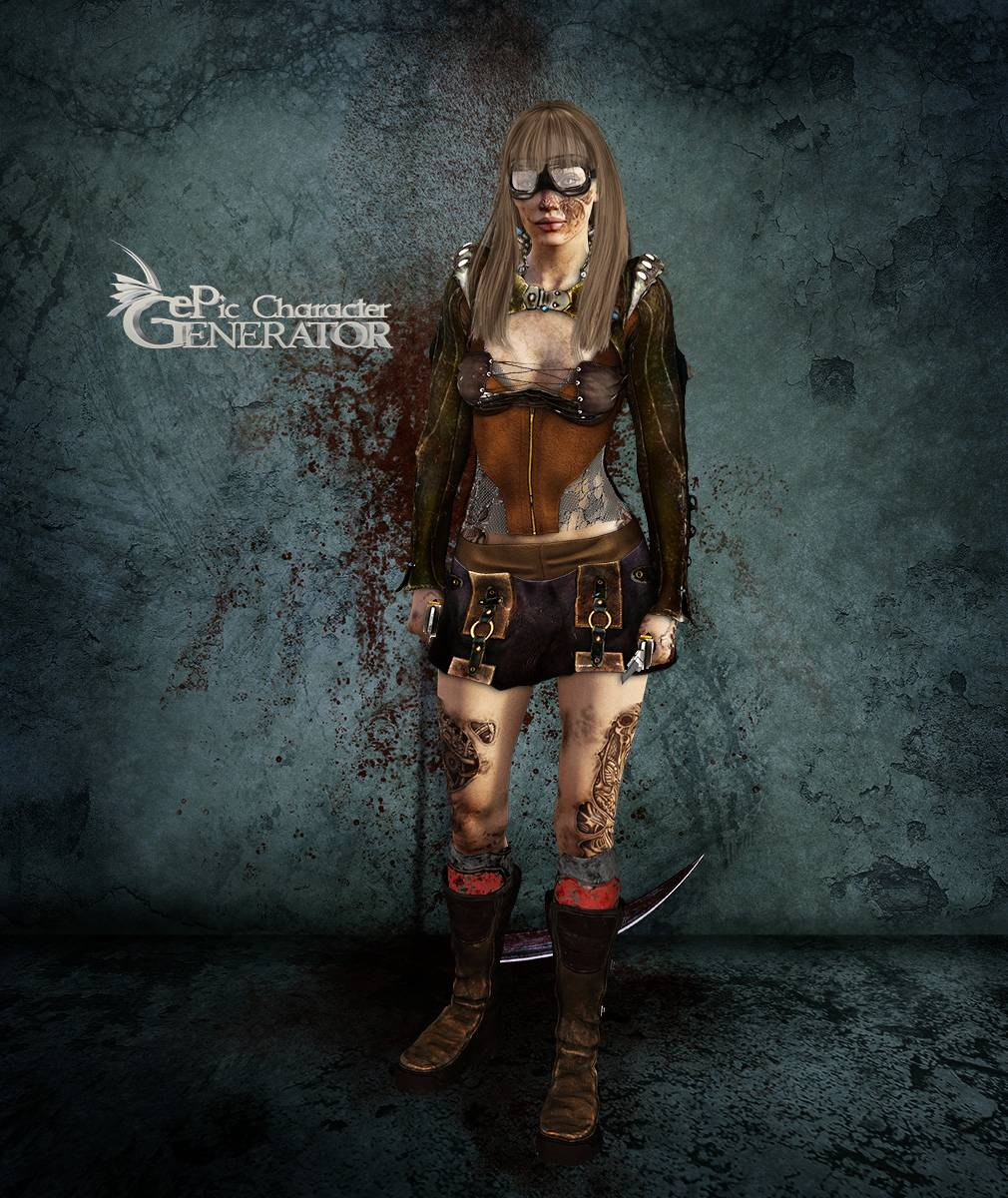 ePic Character Generator Season 2 Female Post Apocalyptic Screenshot 11