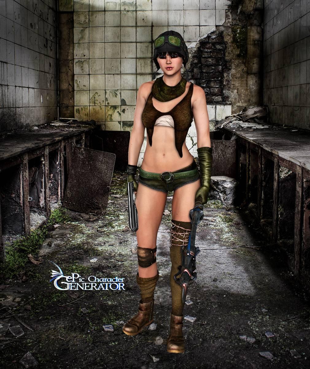 ePic Character Generator Season 2 Female Post Apocalyptic Screenshot 12