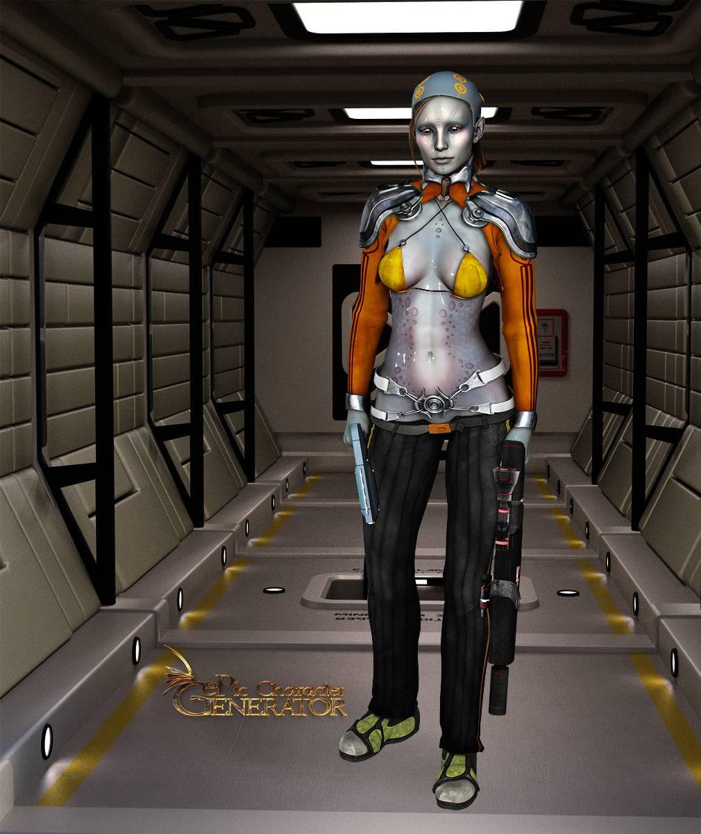 ePic Character Generator Season 2 Female Sci Fi Screenshot 01
