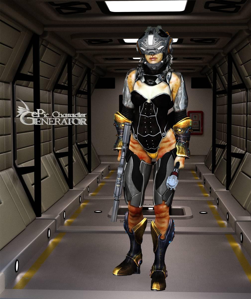 ePic Character Generator Season 2 Female Sci Fi Screenshot 03