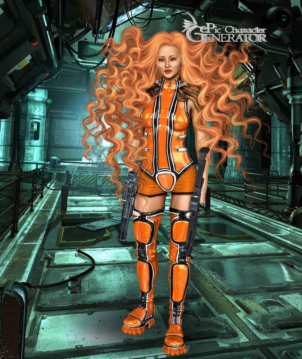 ePic Character Generator Season 2 Female Sci Fi Screenshot 06