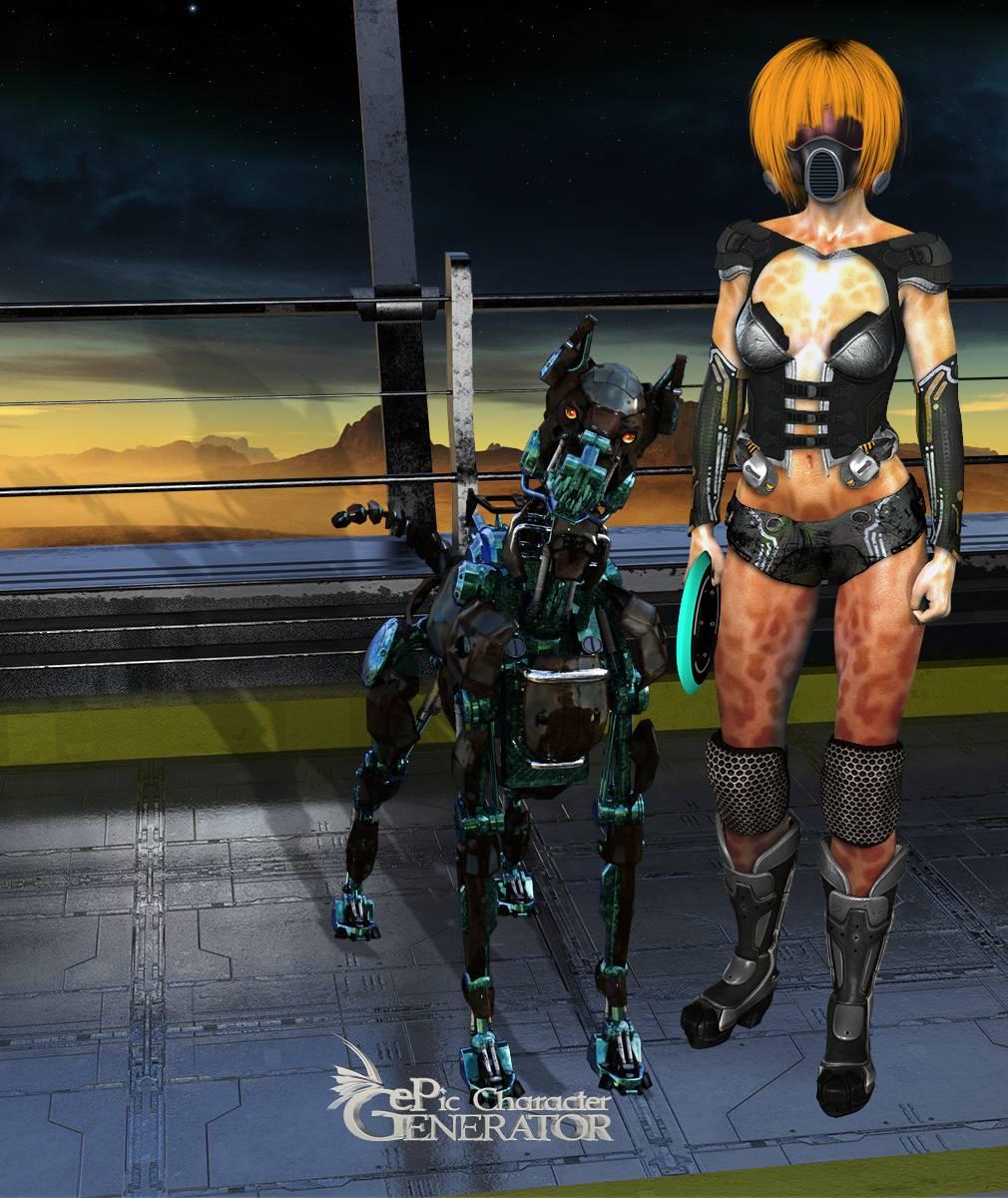 ePic Character Generator Season 2 Female Sci Fi Screenshot 14