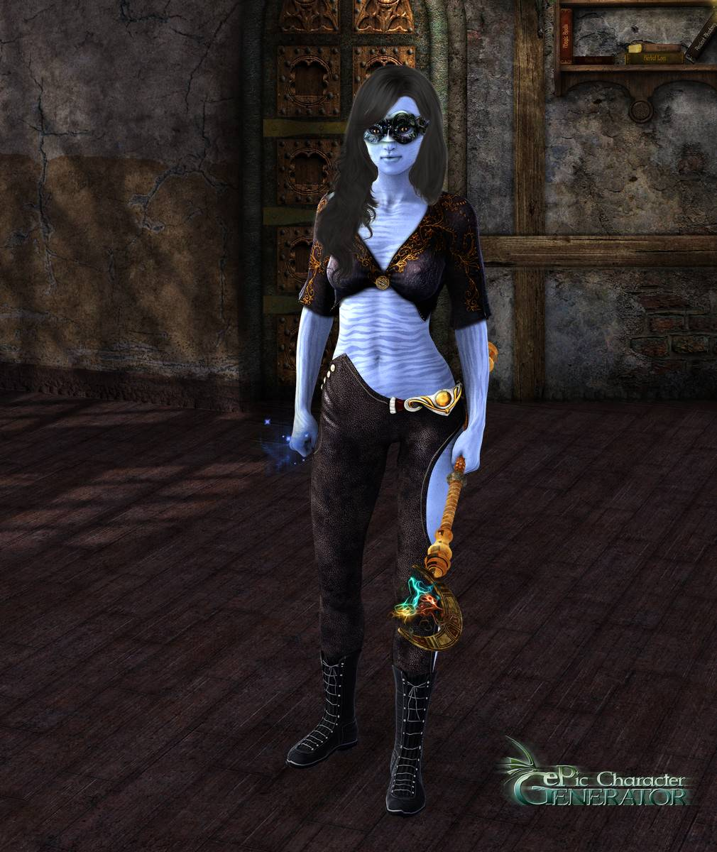 ePic Character Generator Season 2 Female Sorcerer Screenshot 02