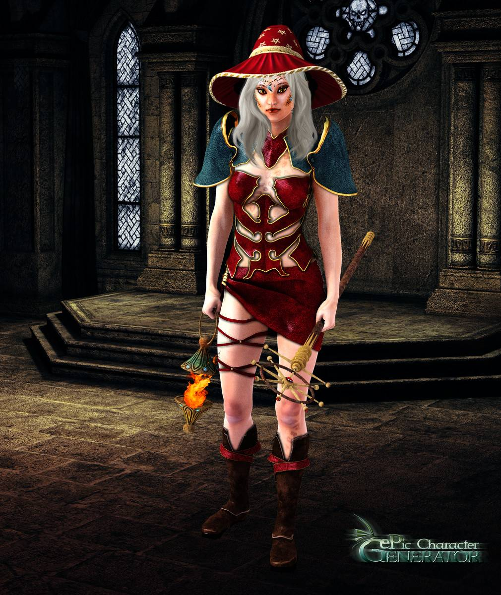 ePic Character Generator Season 2 Female Sorcerer Screenshot 06