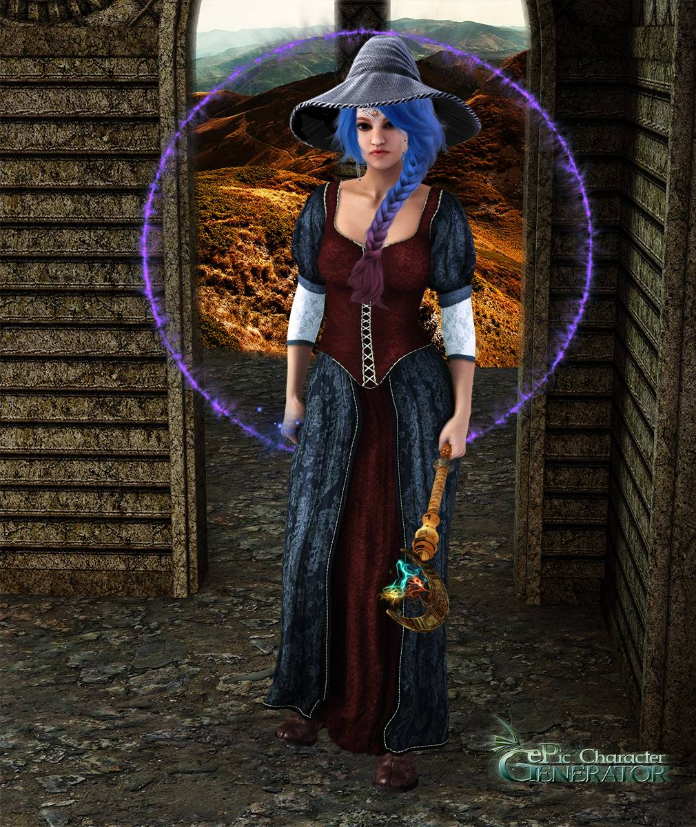 ePic Character Generator Season 2 Female Sorcerer Screenshot 09