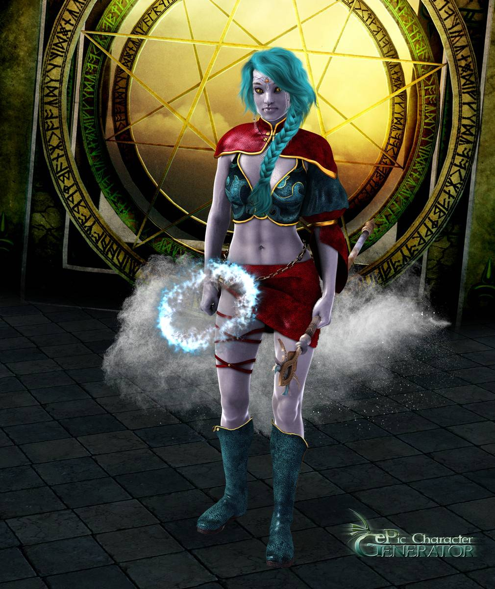 ePic Character Generator Season 2 Female Sorcerer Screenshot 10