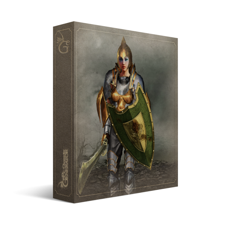 ePic Character Generator Season 2 Female Warrior Box