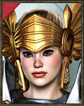 ePic Character Generator Season 2 Female Warrior Icon