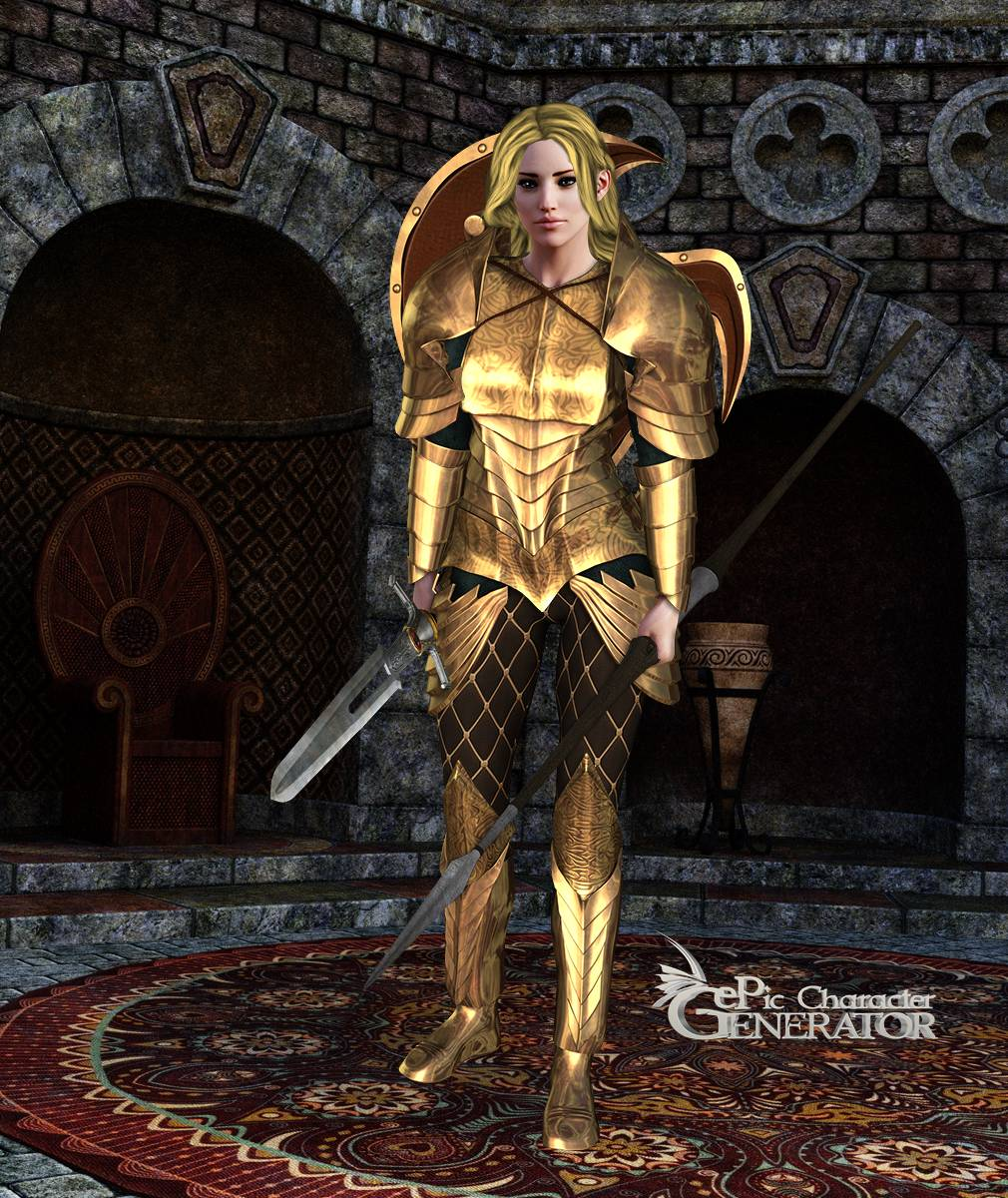 ePic Character Generator Season 2 Female Warrior Screenshot 01