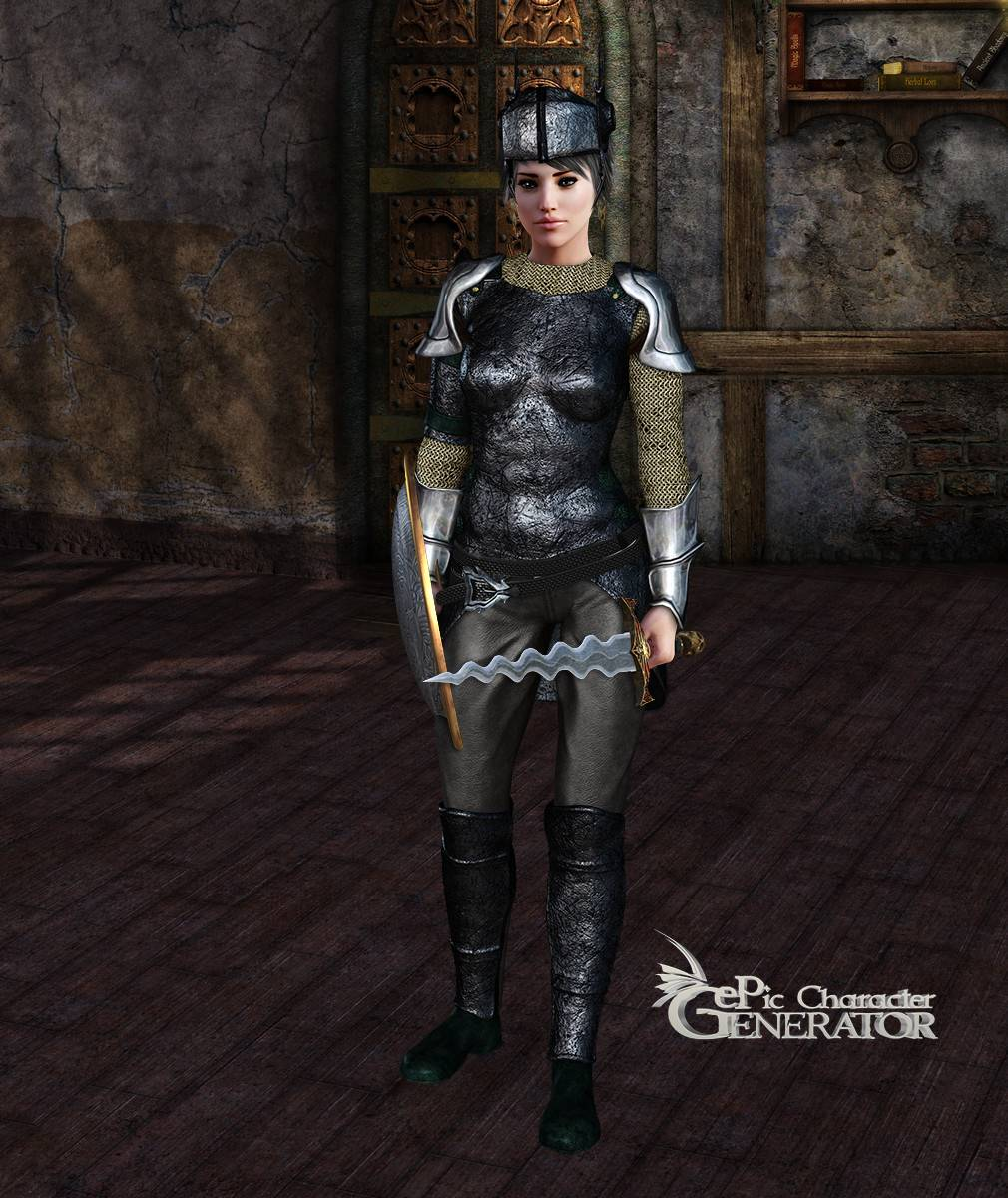 ePic Character Generator Season 2 Female Warrior Screenshot 04
