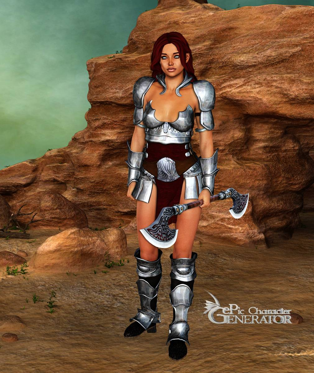 ePic Character Generator Season 2 Female Warrior Screenshot 08