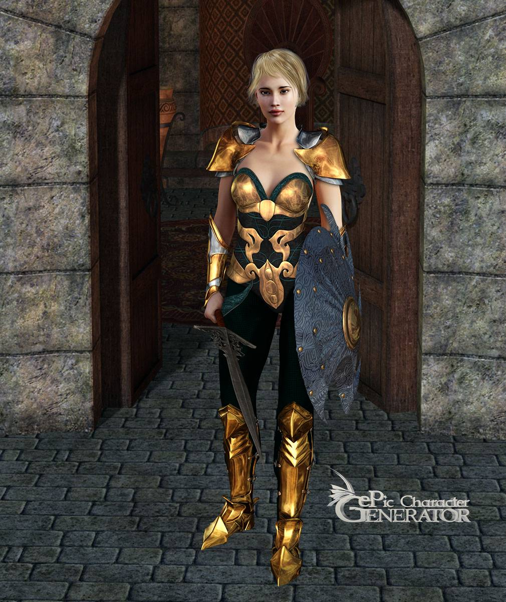 ePic Character Generator Season 2 Female Warrior Screenshot 10