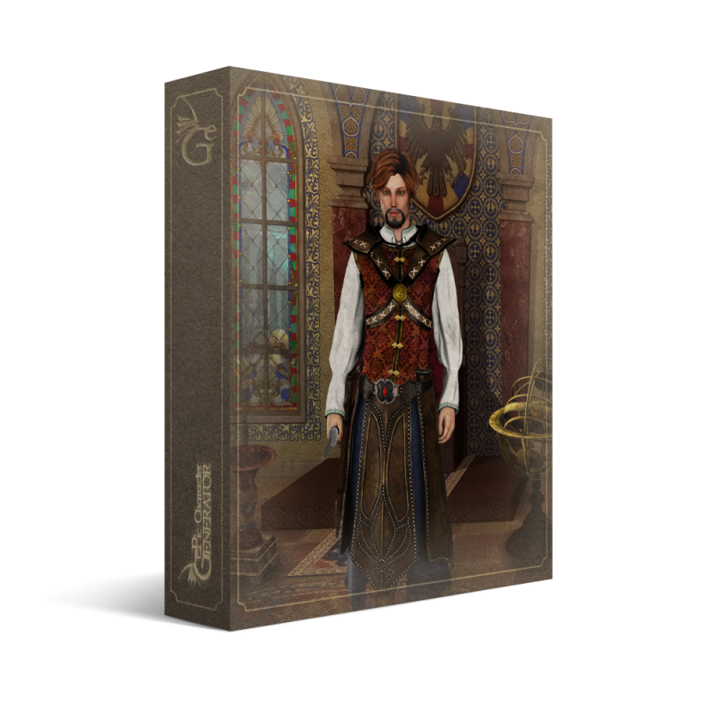 ePic Character Generator Season 2 Male Adventurer Box