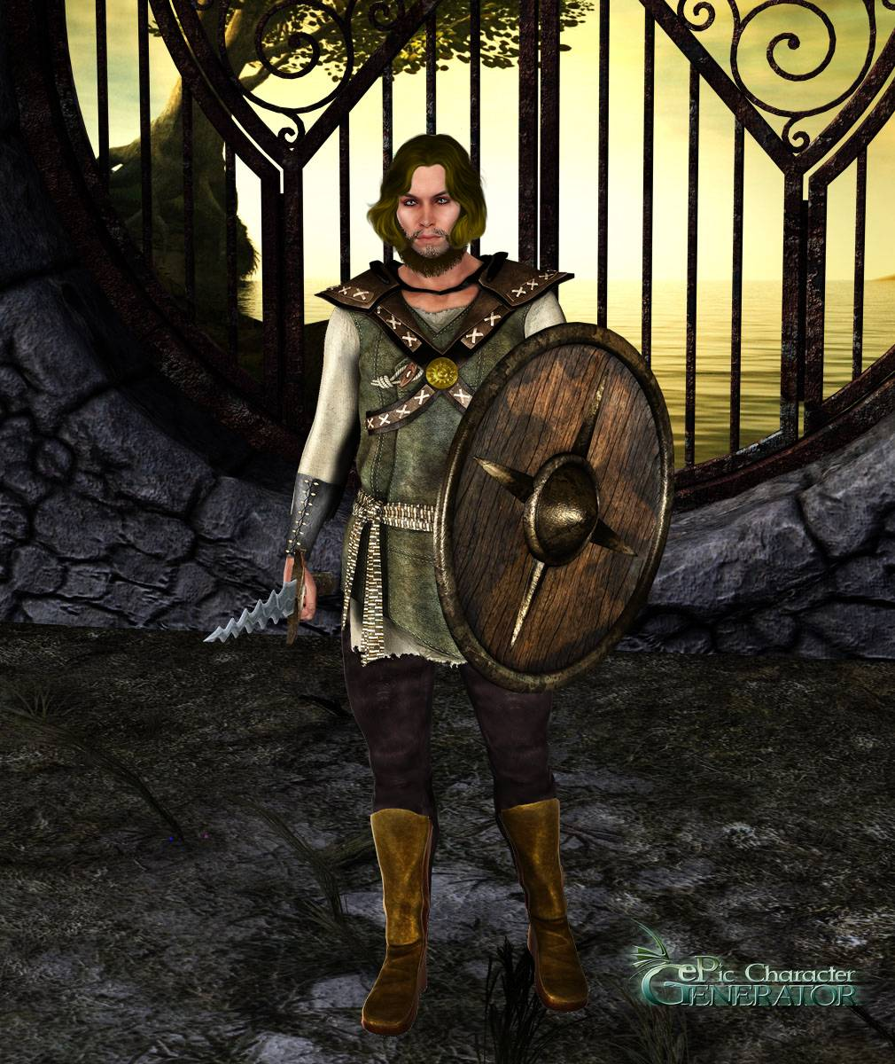 ePic Character Generator Season 2 Male Adventurer Screenshot 01