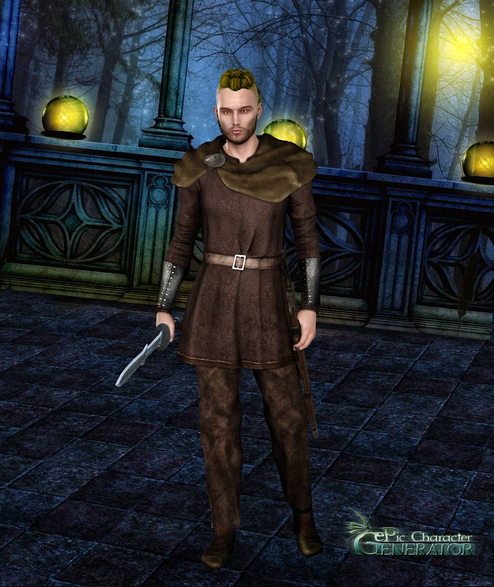 ePic Character Generator Season 2 Male Adventurer Screenshot 02
