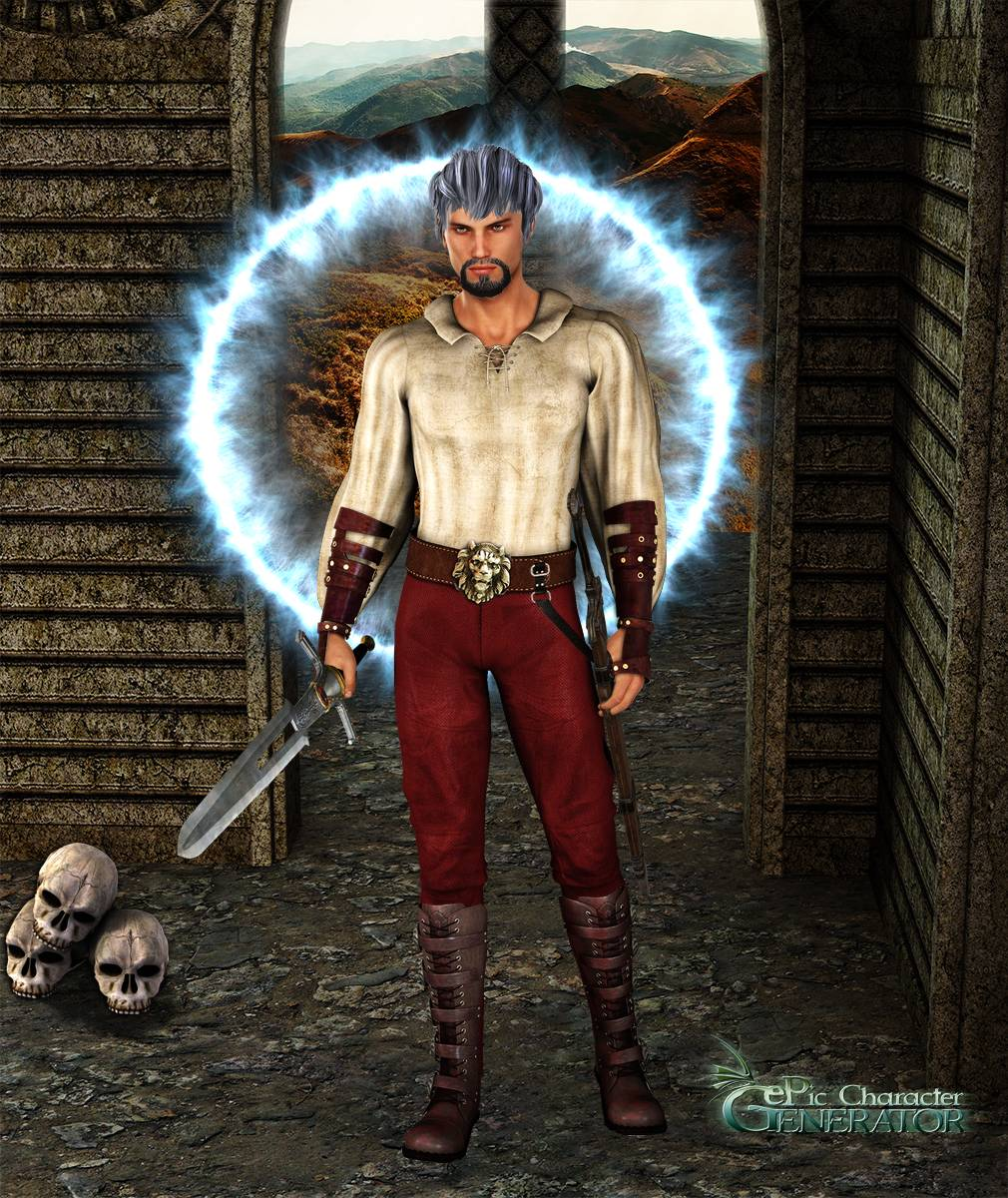ePic Character Generator Season 2 Male Adventurer Screenshot 07