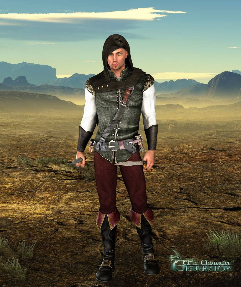 ePic Character Generator Season 2 Male Adventurer Screenshot 12