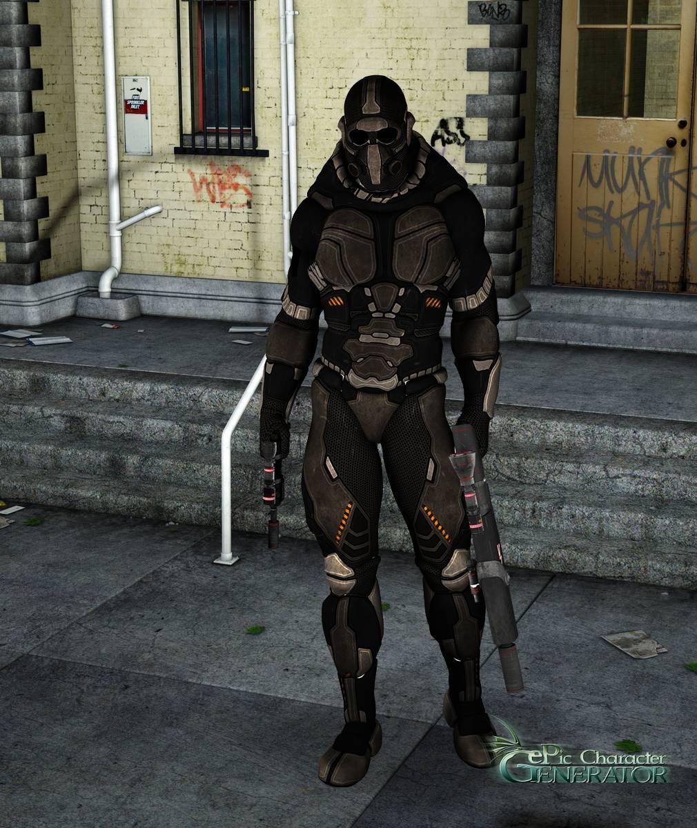 ePic Character Generator Season 2 Male Sci fi Screenshot 01