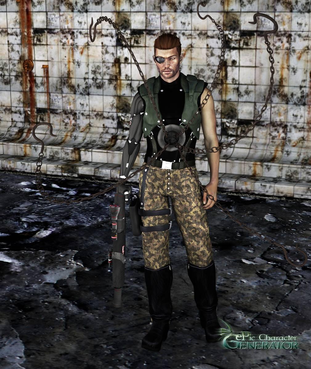 ePic Character Generator Season 2 Male Sci fi Screenshot 03