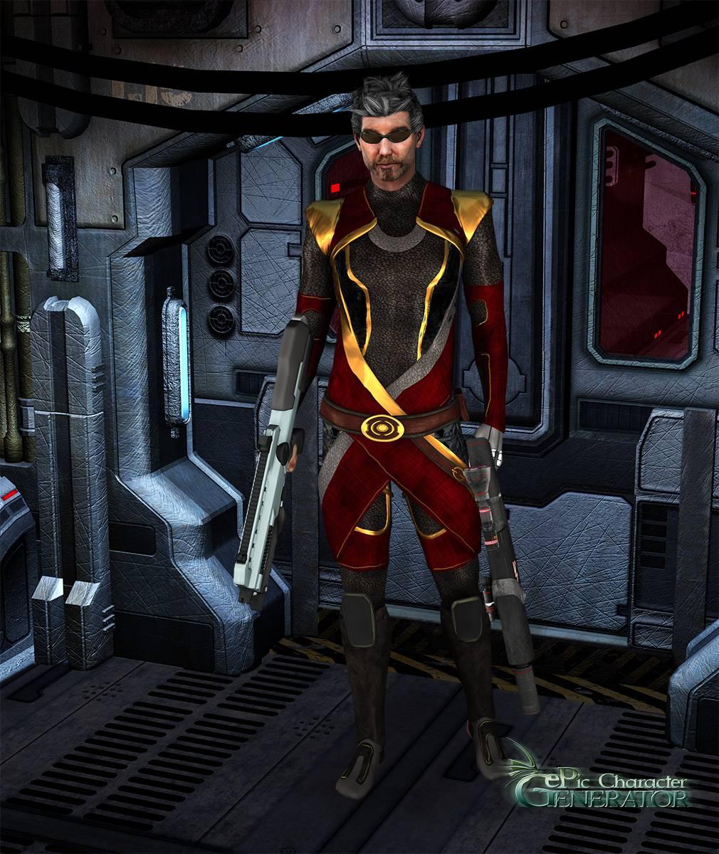 ePic Character Generator Season 2 Male Sci fi Screenshot 04