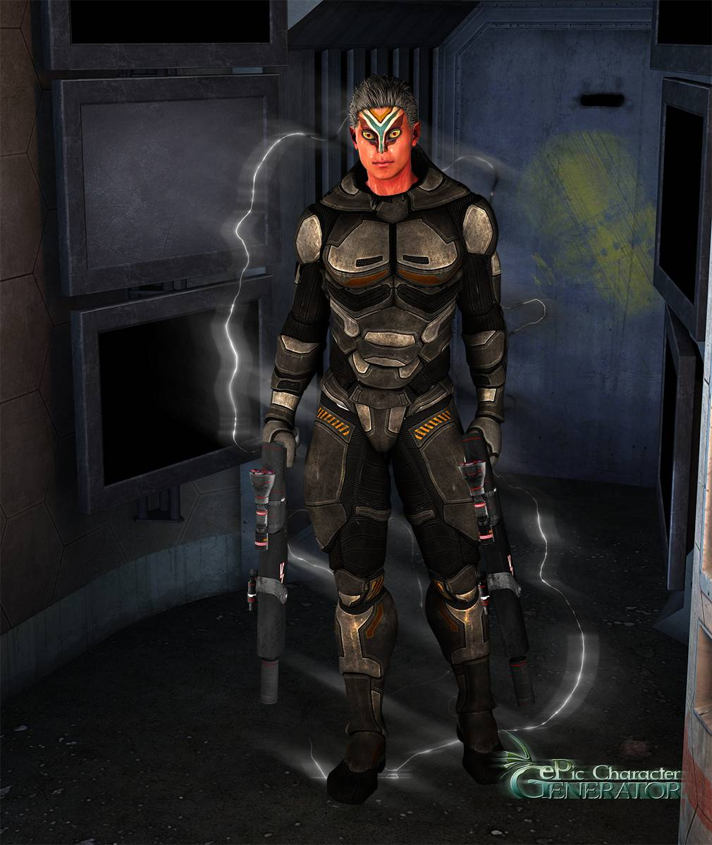 ePic Character Generator Season 2 Male Sci fi Screenshot 06