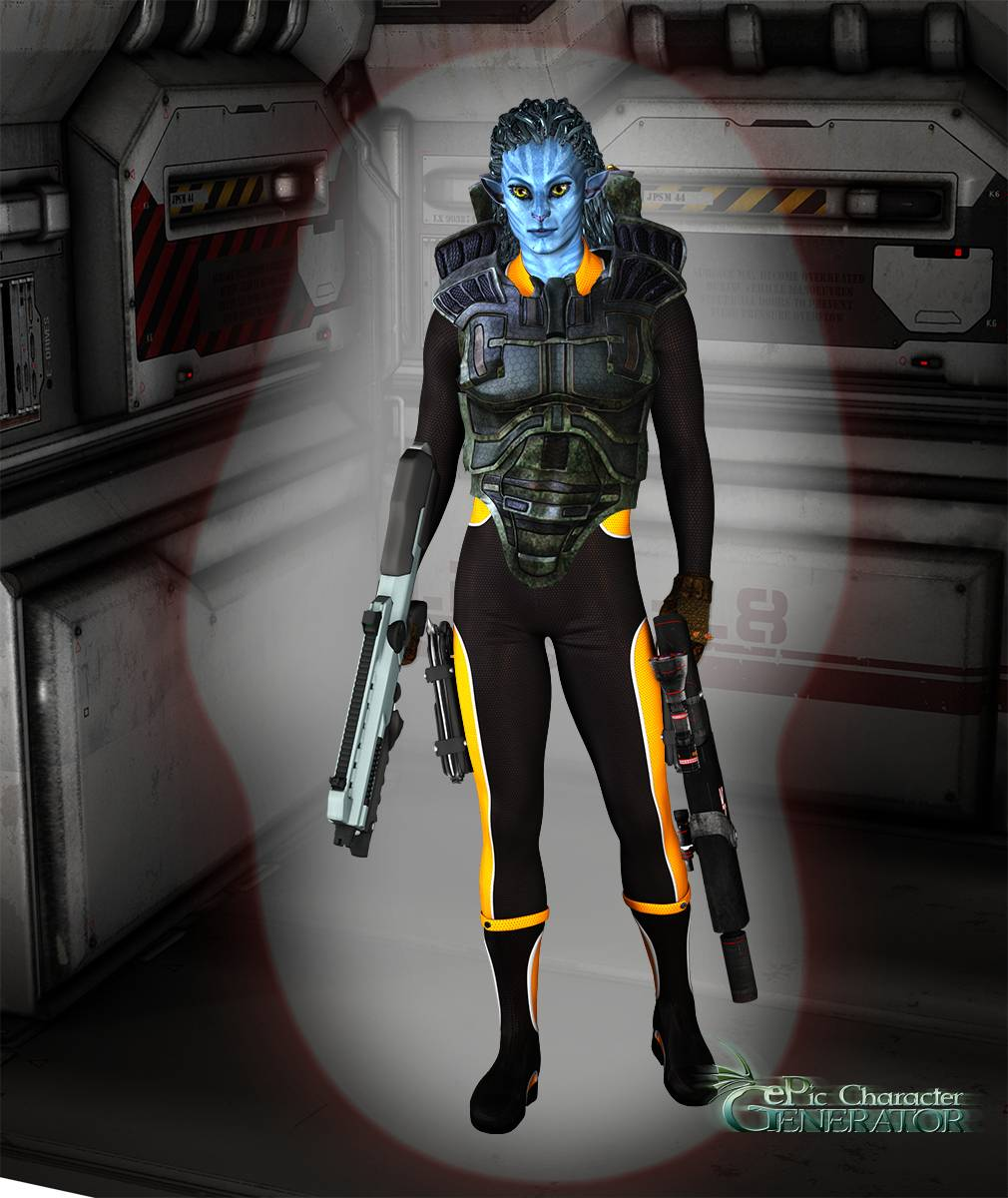ePic Character Generator Season 2 Male Sci fi Screenshot 07