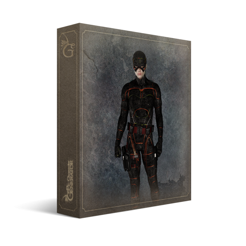 ePic Character Generator Season 2 Male Superhero Box