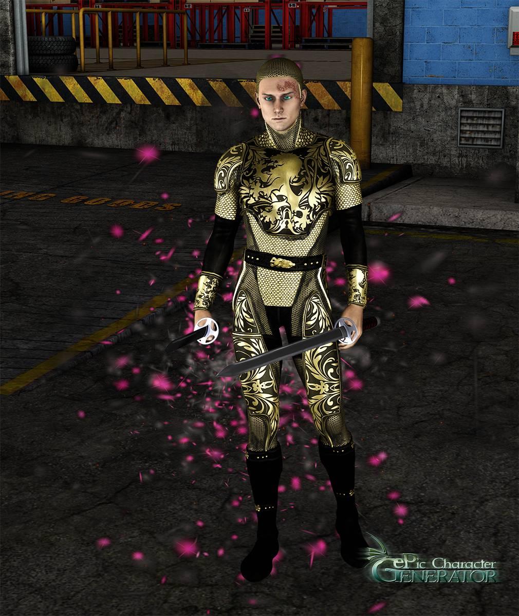 ePic Character Generator Season 2 Male Superhero Screenshot 02