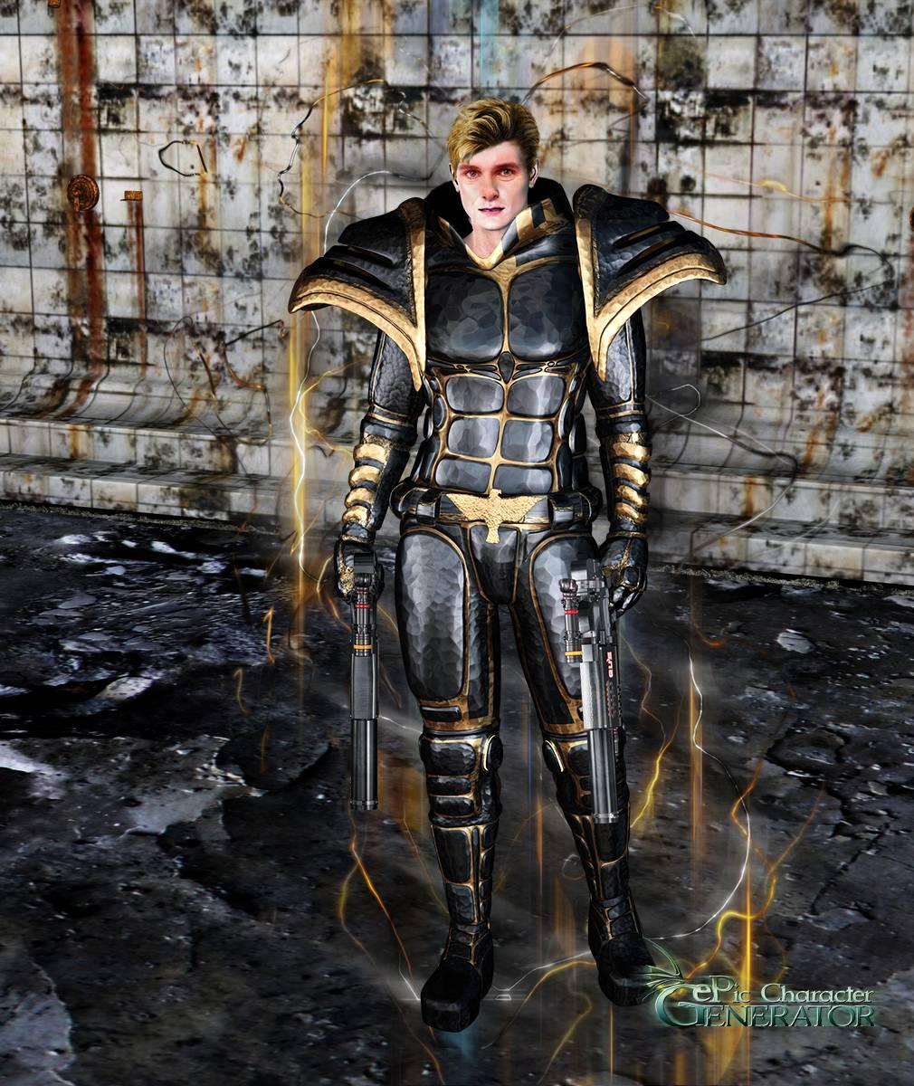 ePic Character Generator Season 2 Male Superhero Screenshot 03