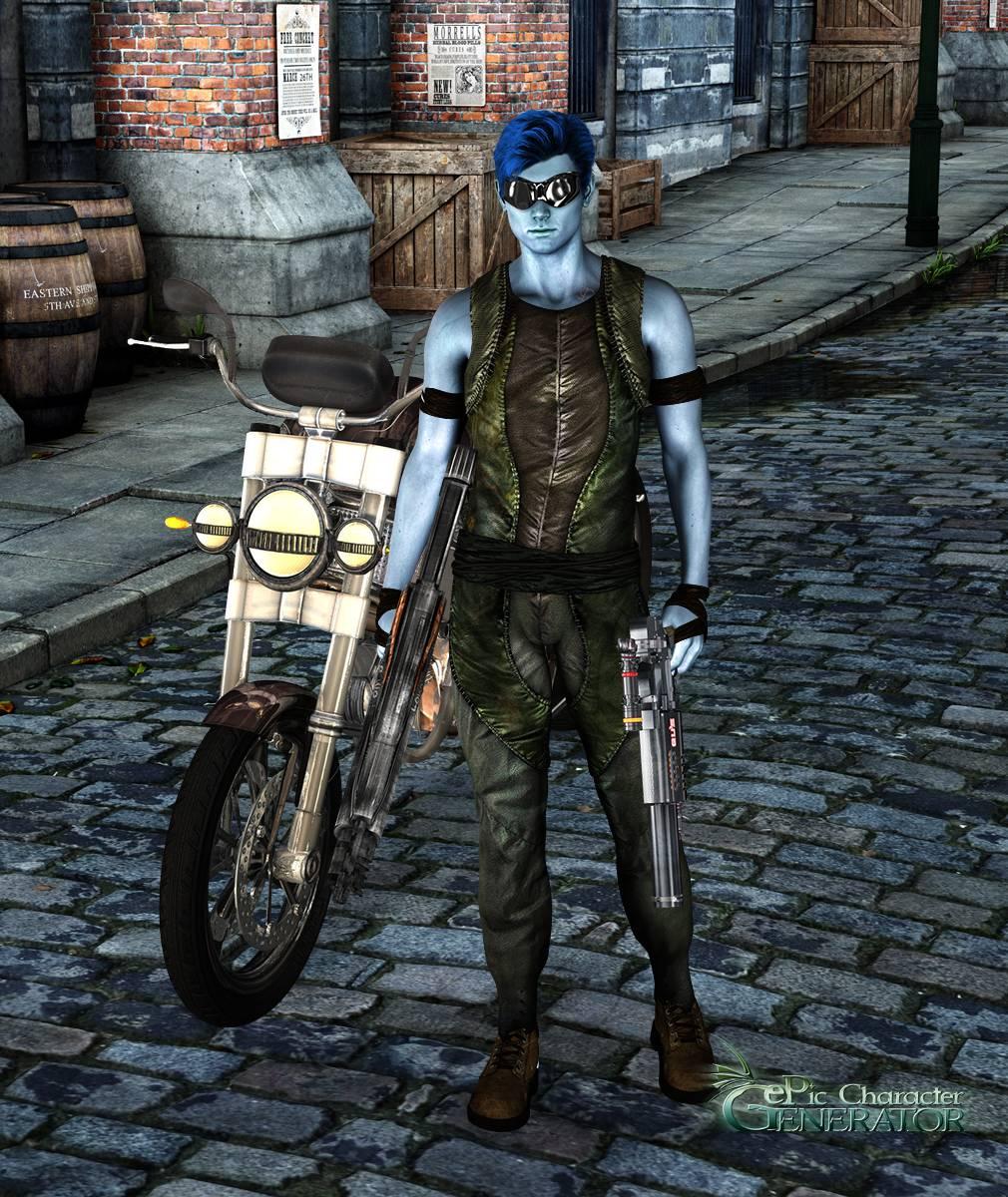 ePic Character Generator Season 2 Male Superhero Screenshot 04
