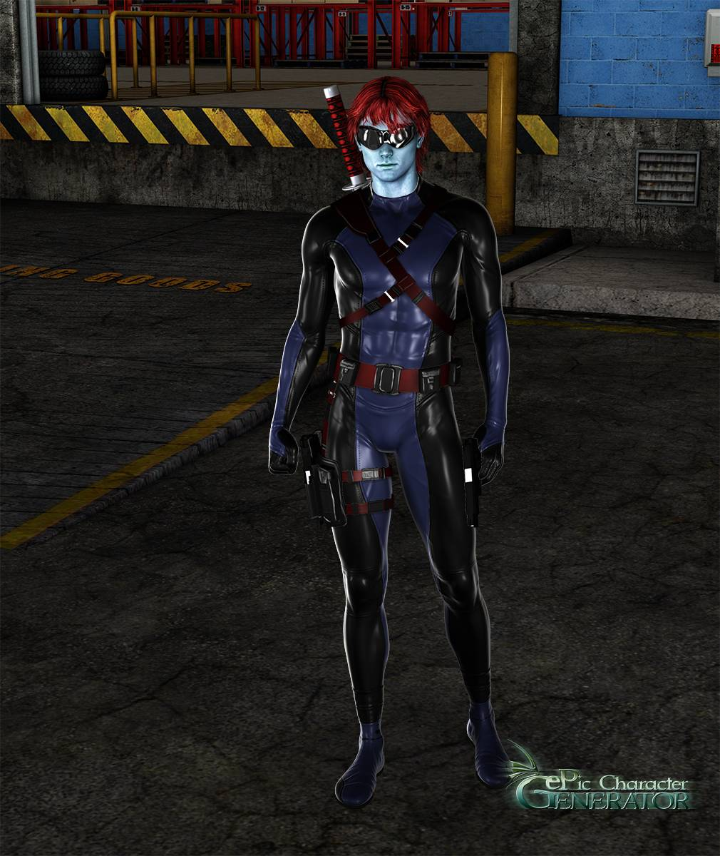 ePic Character Generator Season 2 Male Superhero Screenshot 05