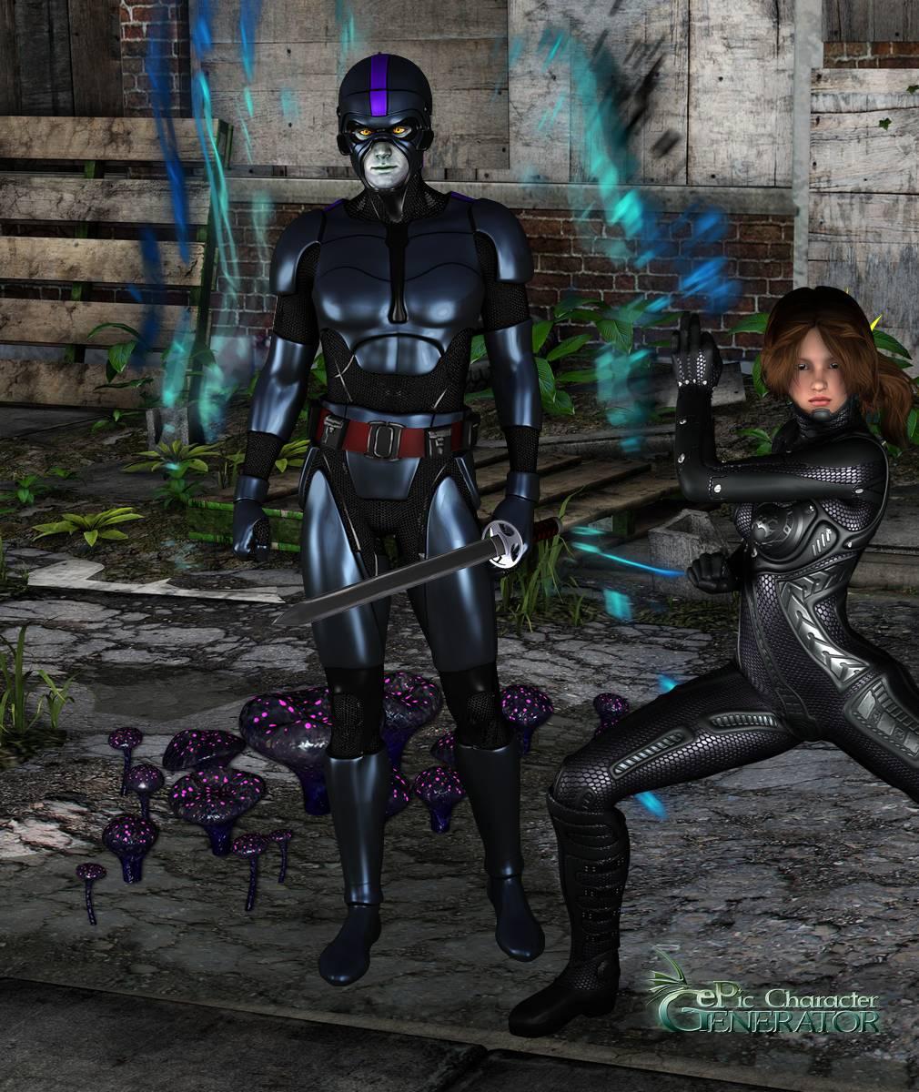 ePic Character Generator Season 2 Male Superhero Screenshot 09