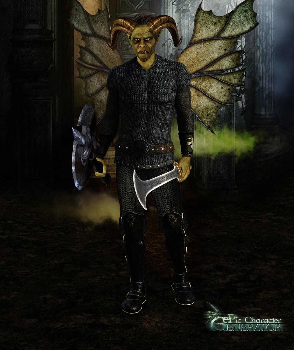 ePic Character Generator Season 2 Male Supernatural Screenshot 13