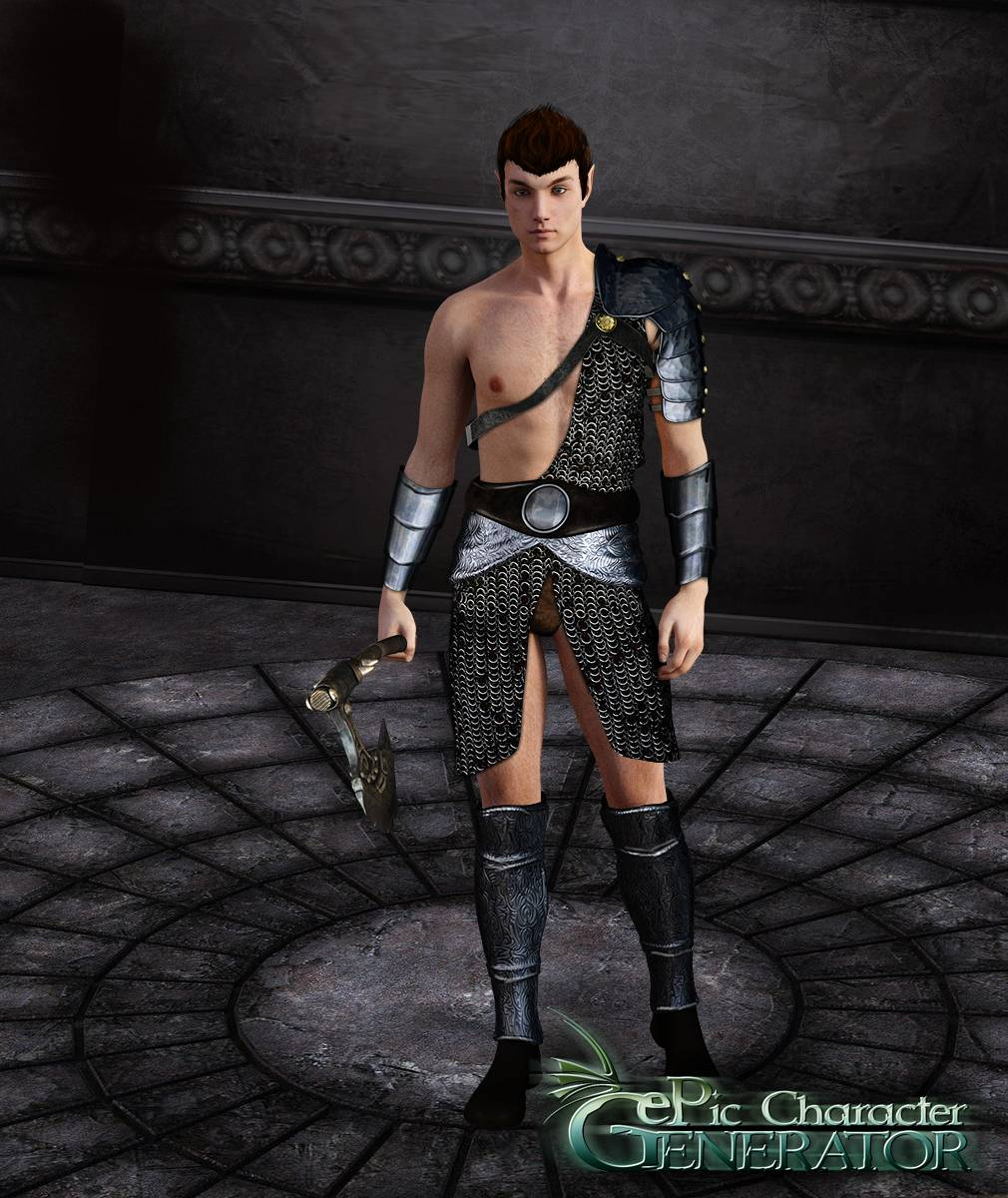ePic Character Generator Season 2 Male Warrior Screenshot 14