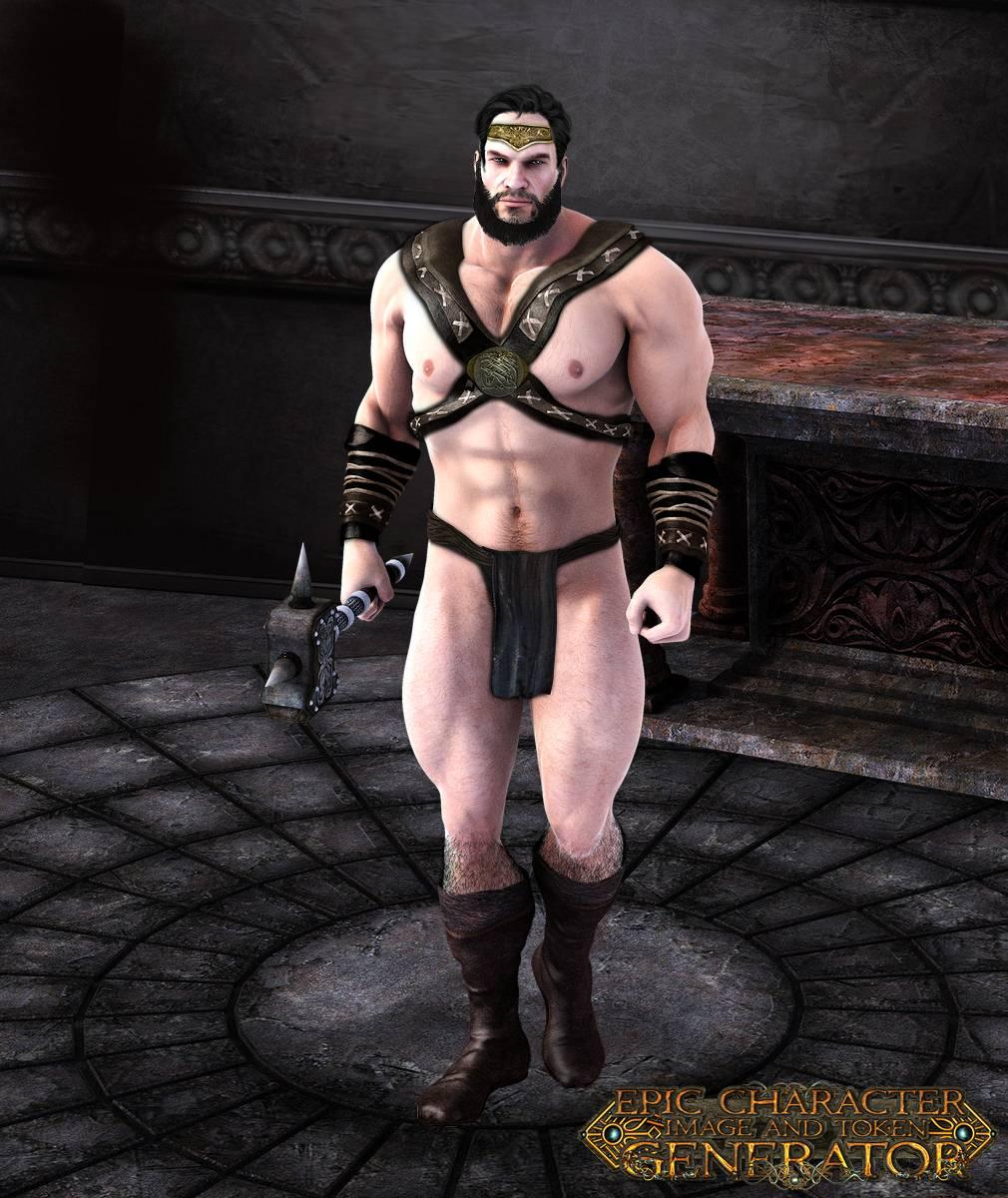 ePic Character Generator Season 2 Muscular Barbarian Screenshot 01