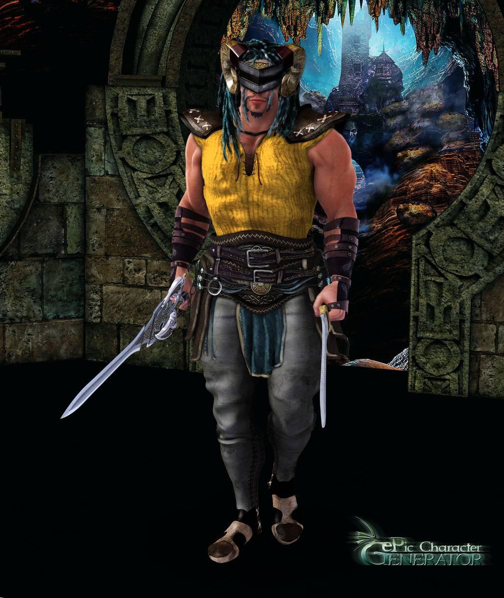 ePic Character Generator Season 2 Muscular Barbarian Screenshot 05