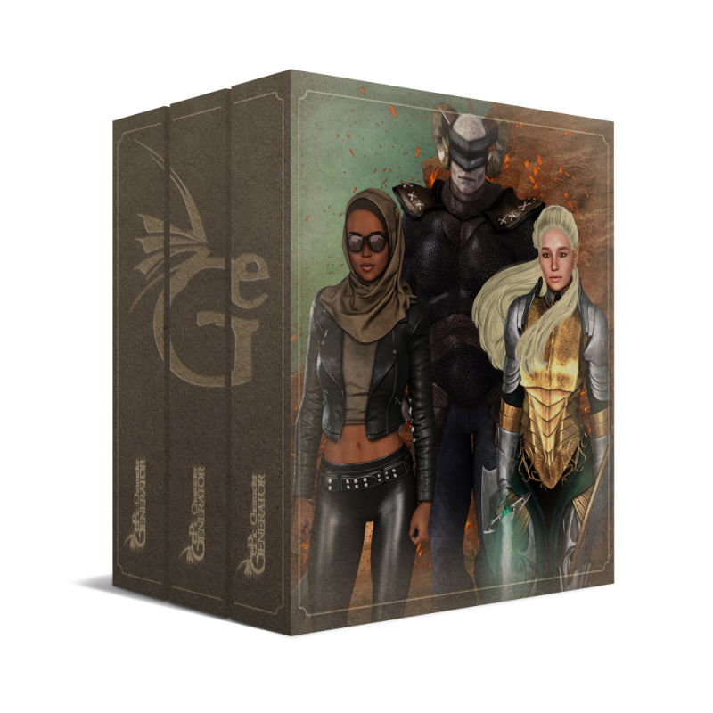 ePic Character Generator Season 2 Pro Bundle Box
