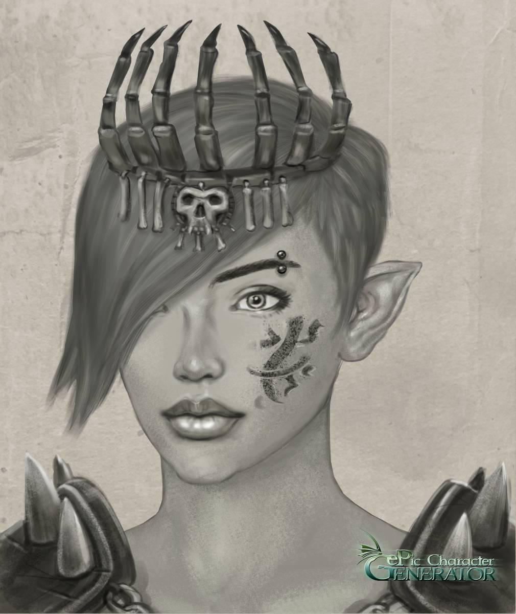 ePic Character Generator Season 3 Female Portrait Screenshot 01