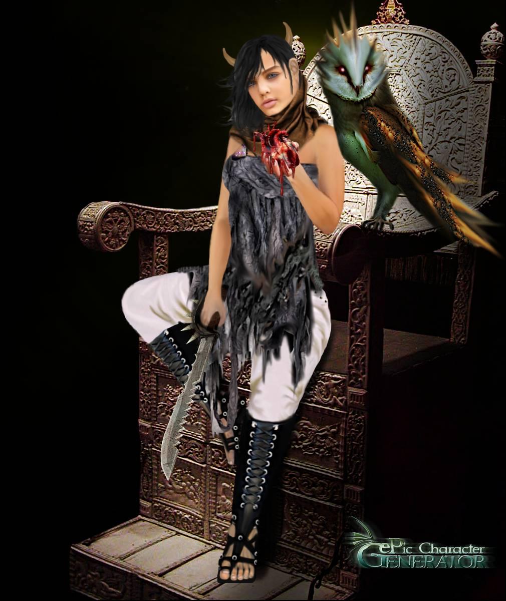 ePic Character Generator Season 3 Throne Lady Screenshot 02