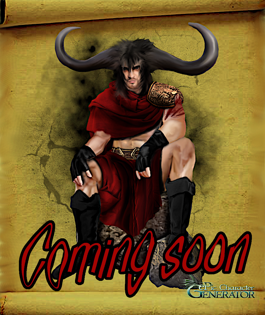 New pack is almost ready :) This time is male in sitting position