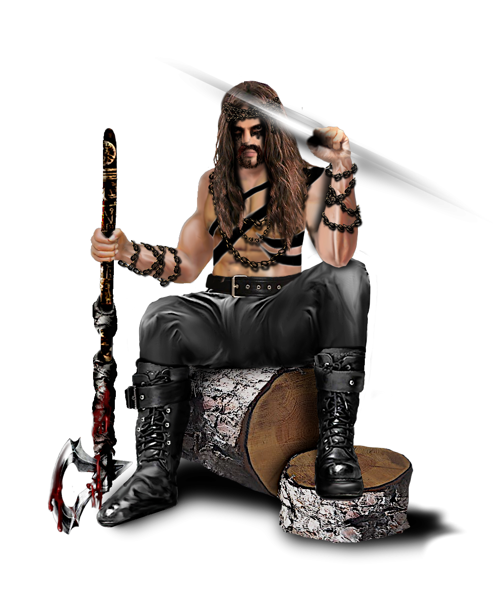 Heavy Metal Guy, No Background